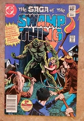 SAGA OF THE SWAMP THING #1  (2nd series  DC Comics 1982)