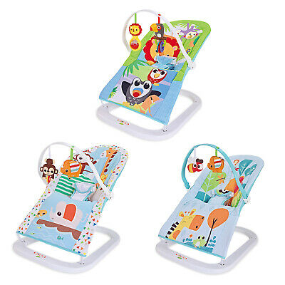 Baby Toddler Rocker Balance Bouncer Safe Chair Soothing Music Vibration Toys
