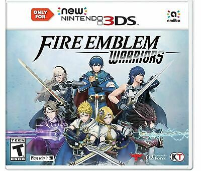 New Nintendo 3Ds Video Game Fire Emblem Warriors Brand New And Sealed