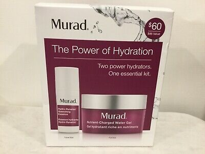 Murad The Power Of Hydration Two Power Hydrators One Essential Kit New In Box!