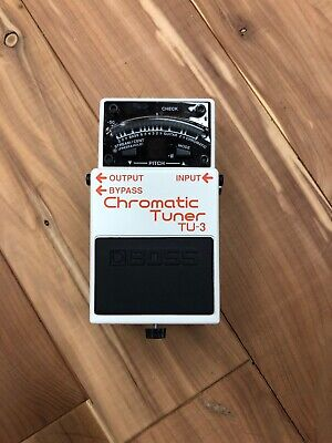 Boss TU-3 Chromatic Pedal Tuner for Guitar and Bass