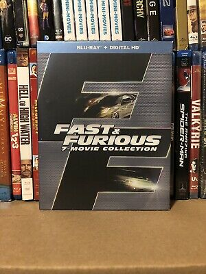 Fast & Furious 7-Movie Collection (Blu-ray, 2016)