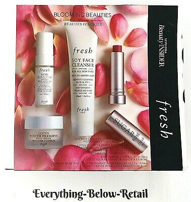 FRESH Sephora Beauty Insider Blooming Beauties Set - NEW! Free Shipping!
