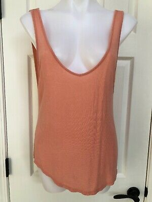 6f64c3326a9e3 American Eagle Outfitters Soft   Sexy Tank Top Low Back Cami Peach One Size