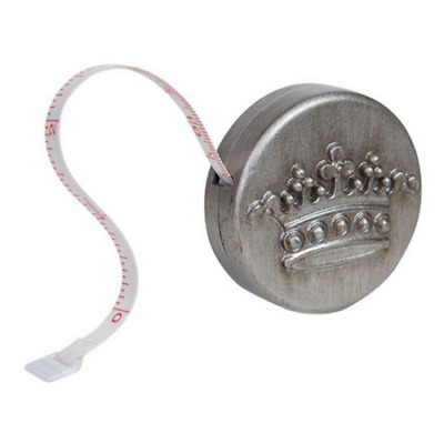 Mini Tape Measure- Antique Silver
