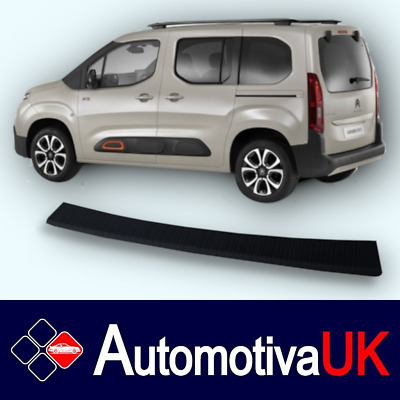 Citroen Berlingo Mark 3 (2018 - Onward) Rear Guard Bumper Protector