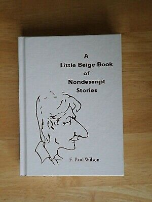 F Paul Wilson Little Beige Book signed limited edition
