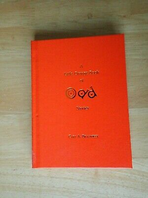 Gary A Braunbeck Little Orange Book signed limited edition