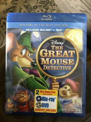 The Great Mouse Detective - [Blu-Ray/dvd Combo Pack] - New Unopened - Disney