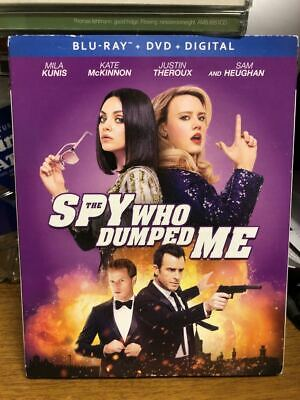 The Spy Who Dumped Me (Blu-Ray+Dvd+Digital) Brand New!!