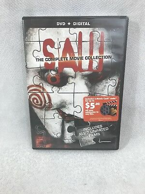 Saw: The Complete Movie Collection, Dolby, Subtitled, Wide