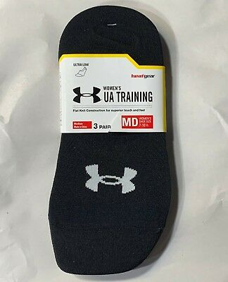 d3eae75a NWT UNDER ARMOUR Women's Ultra Low Training Liner Socks 3 Pack Pair ...