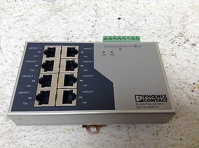 Phoenix Contact 2832771 FL Switch SF 8TX Ethernet 8 Port FLSWITCHSF8TX