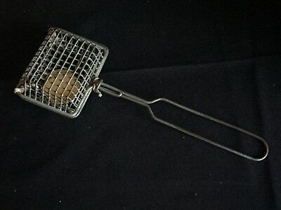 Antique Vintage Metal Wire Soap Strainer Basket