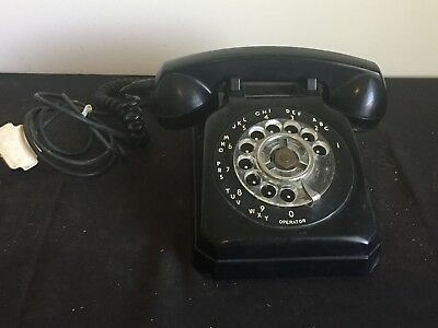 Vintage Stromberg Carlson Telephone with old 4 Prong Plug
