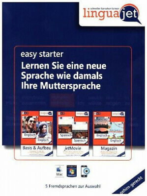Linguajet Starterpaket, CD-ROM (Software) NEU