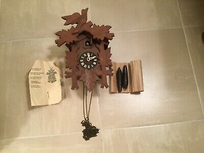 Black Forest Cuckoo Clock made in West Germany