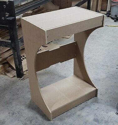 Easy to Assemble XL Bartop / Tabletop Arcade Cabinet Pedestal Kit
