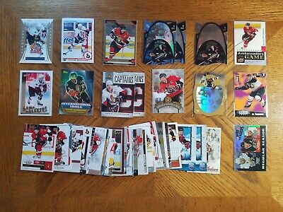 Daniel Alfredsson 105 Card Lot Inserts + Base Mix Years See Pics For Actual Card