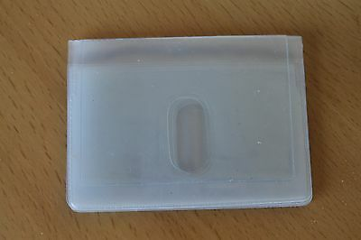 Clear Credit Card holder refill insert for card holder 10 pocket with thumb hole