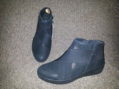 de544000ff7 FITFLOP-SUPERFLEX ANKLE BOOT-BLACK Tumbled Leather-Size 7-NWOB