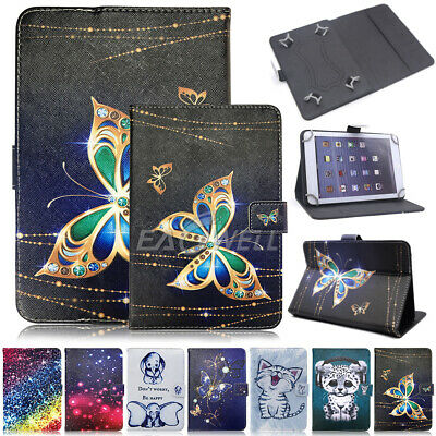 UK For Huawei Mediapad T3 7.0 10 inch Tablet Universal Folio Leather Case Cover