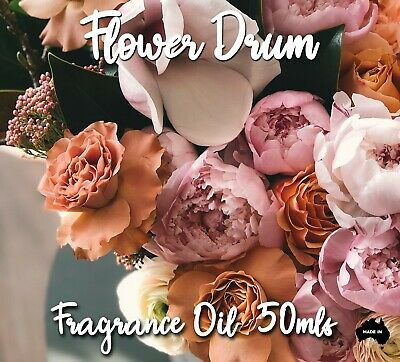 Flower Drum Top Quality Fragrance Oil, 50 Mls - Candles, Soaps, Diffusers