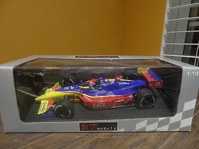 UT Models Tasman Motorsports Team Tony Kanaan LCI 1:18 Die Cast Indy Race 21 Car