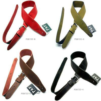 Classic Luxury Soft PU Leather For Guitar Acoustic/Electric/Basses Guitar Strap