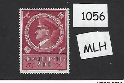 MLH  Adolph Hitler stamp / 1944 Birthday issue / Nazi Germany / Third Reich  MLH