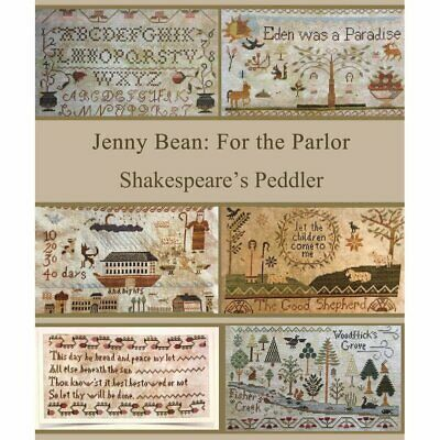Jenny Bean: For the Parlor Shakespeare's Peddler Cross Stitch Pattern
