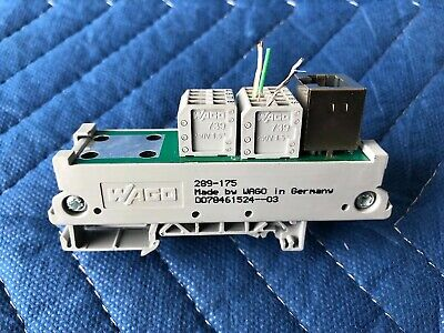 Wago 289-175 Interface Module for Ethernet RJ-45 24x40x85mm