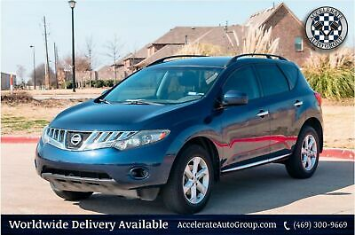 2009 Nissan Murano S TRIM, CLEAN CARFAX, 2 OWNERS, NICE! 469-300-9669