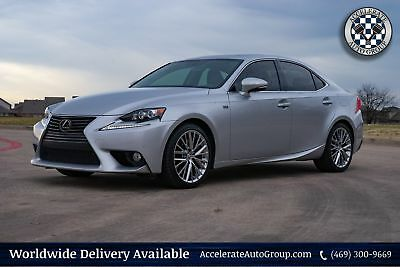 2014 Lexus IS 350 IS 350 Limited Edition NAV Leather Clean Carfax 469-300-9669