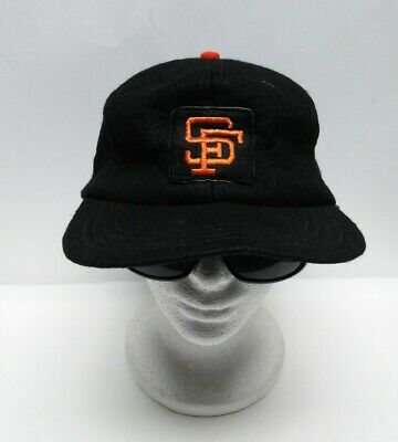 968fea23 VINTAGE SAN FRANCISCO Giants SF Wool/Rayon Hat Cap Size 7 1/4 MLB ...