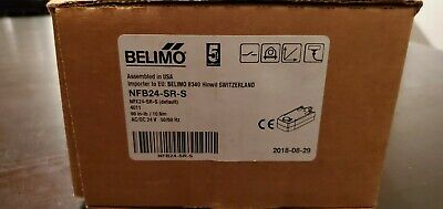 Belimo NFB24-SR-S Proportional Spring Return Actuator Box in Excellent Condition