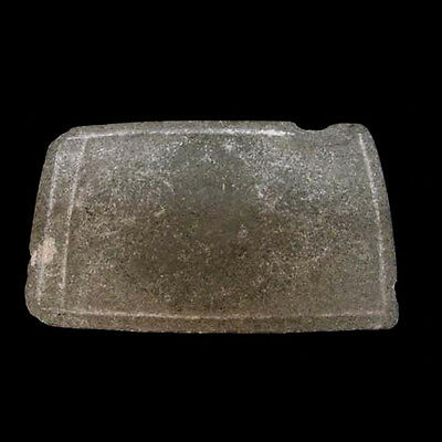 A fine greenstone metate t4362