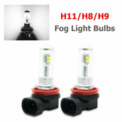 2X 80W H11 H8 High Power Super White CREE LED Fog Driving Lights DRL Lamp Bulbs