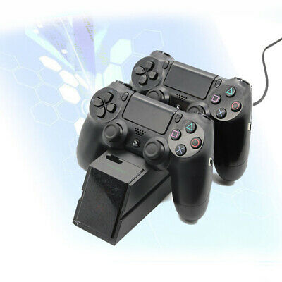 PS4 Dual Controller Fast Charger Charging Dock Station Stand Dualshock Gamepad n