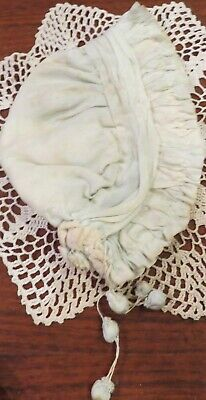 Antique Accessory For Antique, Early or Vintage Dolls, Great Bonnet