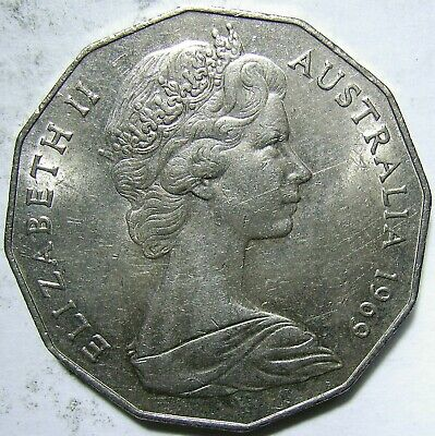 1969 50c.VF.50 cent(Lot3O1012p)Free Registered Postage