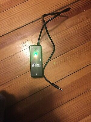 IK Multimedia iRig Pre Microphone Interface