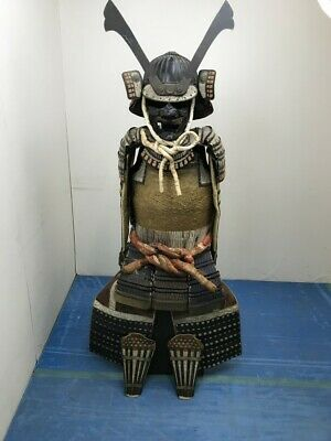 The Kabuto and Armor Full Set Japanese Traditional Used By SAMURAI, Edo Era,Rare