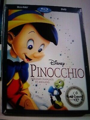 Disney's Pinocchio The Signature collection DVD New & Sealed!