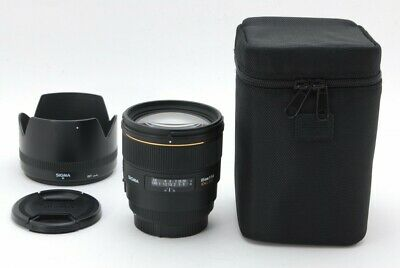 SIGMA Camera Lens ,85mm F1.4 EX DG  For Canon,Excellent+++,  From Japan, TK0796
