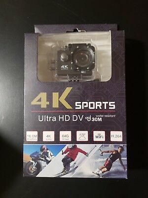 Ultra HD 4K Sports Action Camera Waterproof DV Camcorder 30M