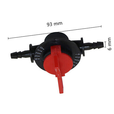 Valve Venturi Fertilizer Garden Irrigation Accessories Parts 6mm inner diameter