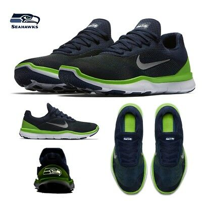 be73fa17039 Seattle Seahawks NFL Nike Free Trainer V7 Shoes Size 11 12 Limited Edition  New