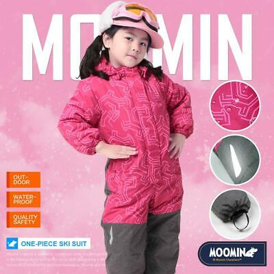 d725a0253329 MOOMINS KIDS BOYS Ski Suit Snow Suit All in one piece Snowboard Set ...