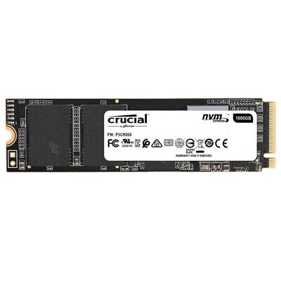 Crucial P1 SSD 1TB NVMe PCIe Gen 3 M.2 Internal Solid State Drive CT1000P1SSD8